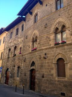 edificios toscanos italia