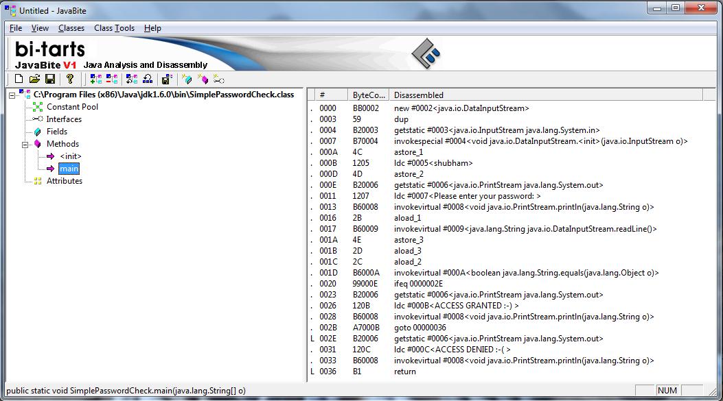 Java Reverse Engineering Tutorial#3: Cracking simple