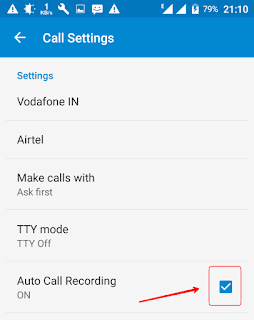 call recording ke liye software