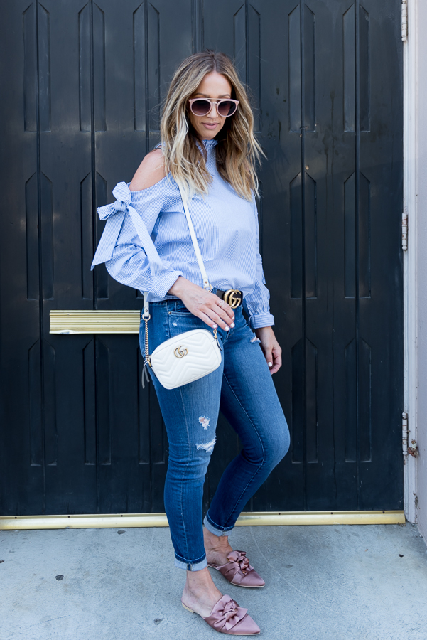 ripped jeans parlor girl