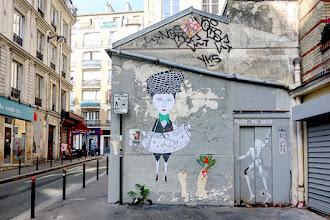 Sunday Street Art : Fred le Chevalier et Jérôme Mesnager - rue Jean-Baptiste Dumay - Paris 20