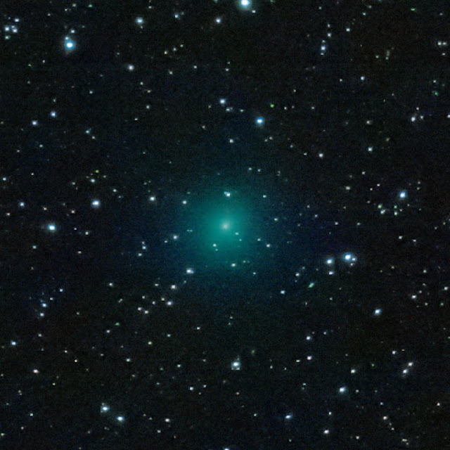 Cometa 46p wirtanen por Yasushi Aoshima