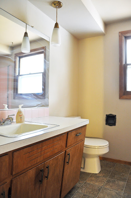 Sixties bathroom renovation