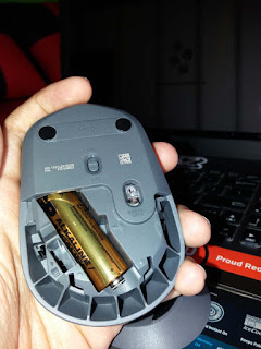 bongkar daleman mouse logitech m170