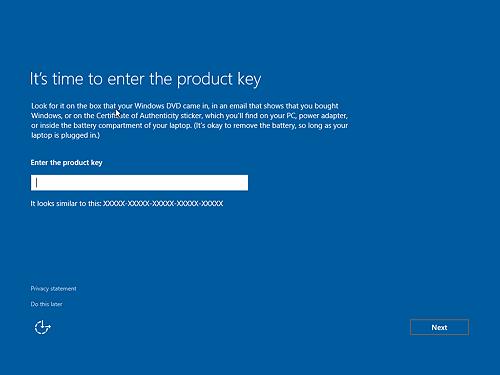 17 - Cara Install Windows 10