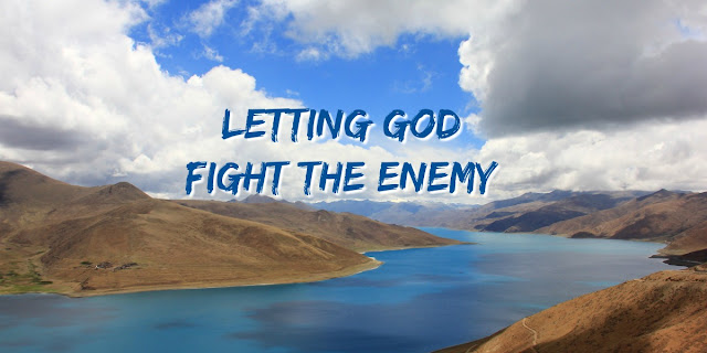 Facing the Enemy, Psalm 143, letting God fight for us