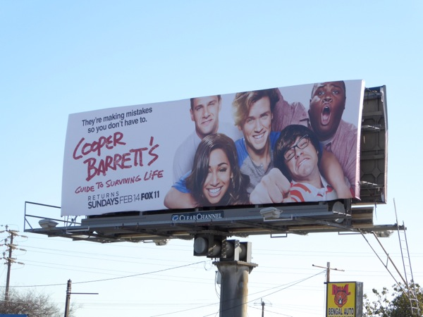 Cooper Barretts Guide to Surviving Life season 1 billboard