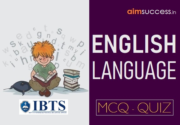 English MCQ for IBPS RRB/ PO/ Indian Bank 2018: 11 Sep