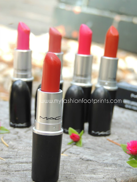 My all time favorite Mac lipsticks and swatches