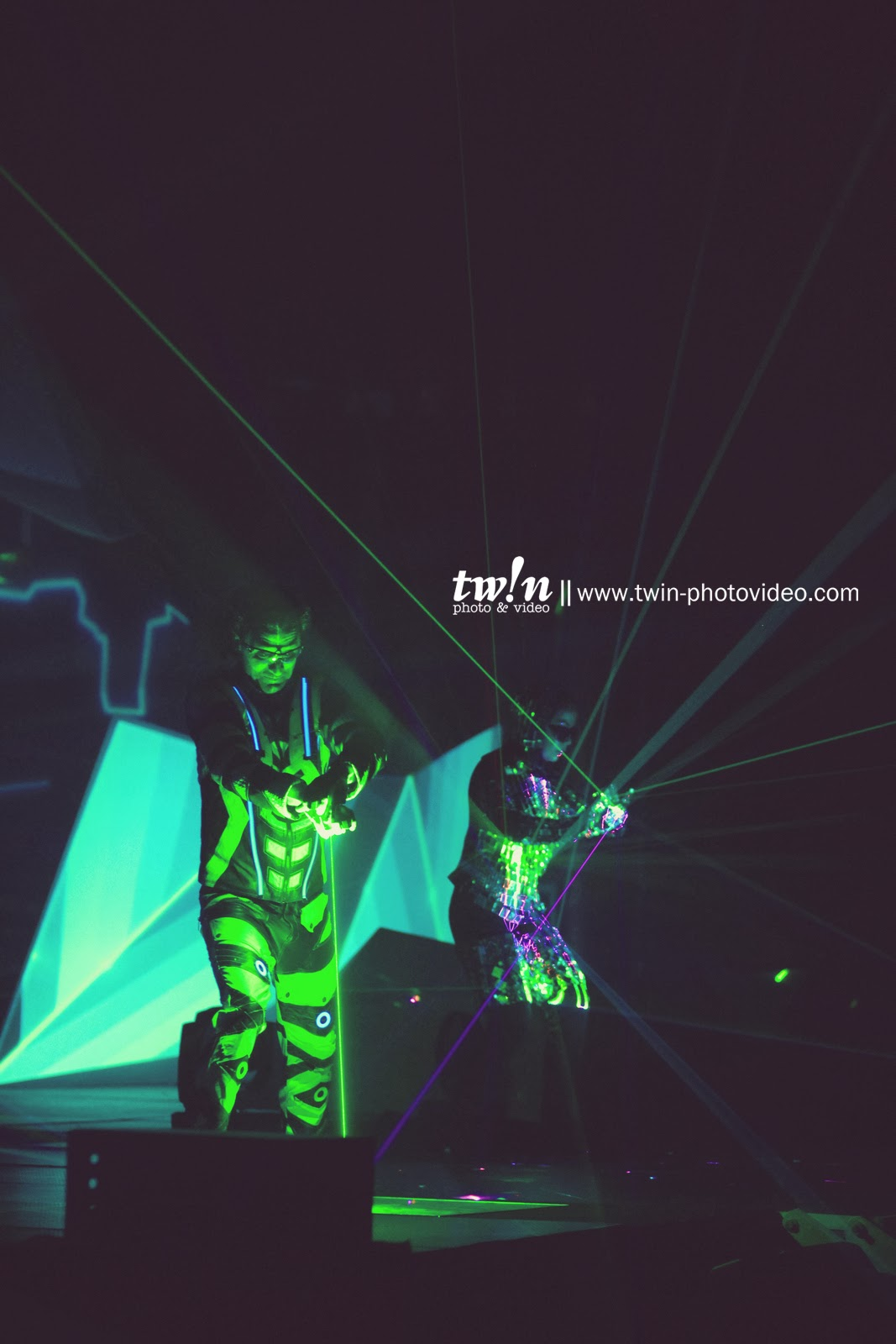 Laser Dance at 3030SERANG