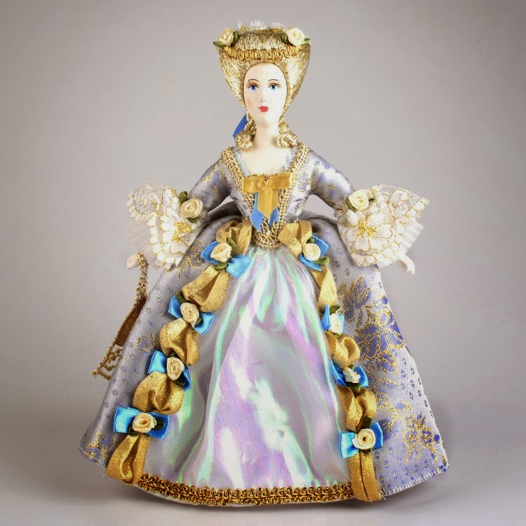 Russian porcelain princess dolls