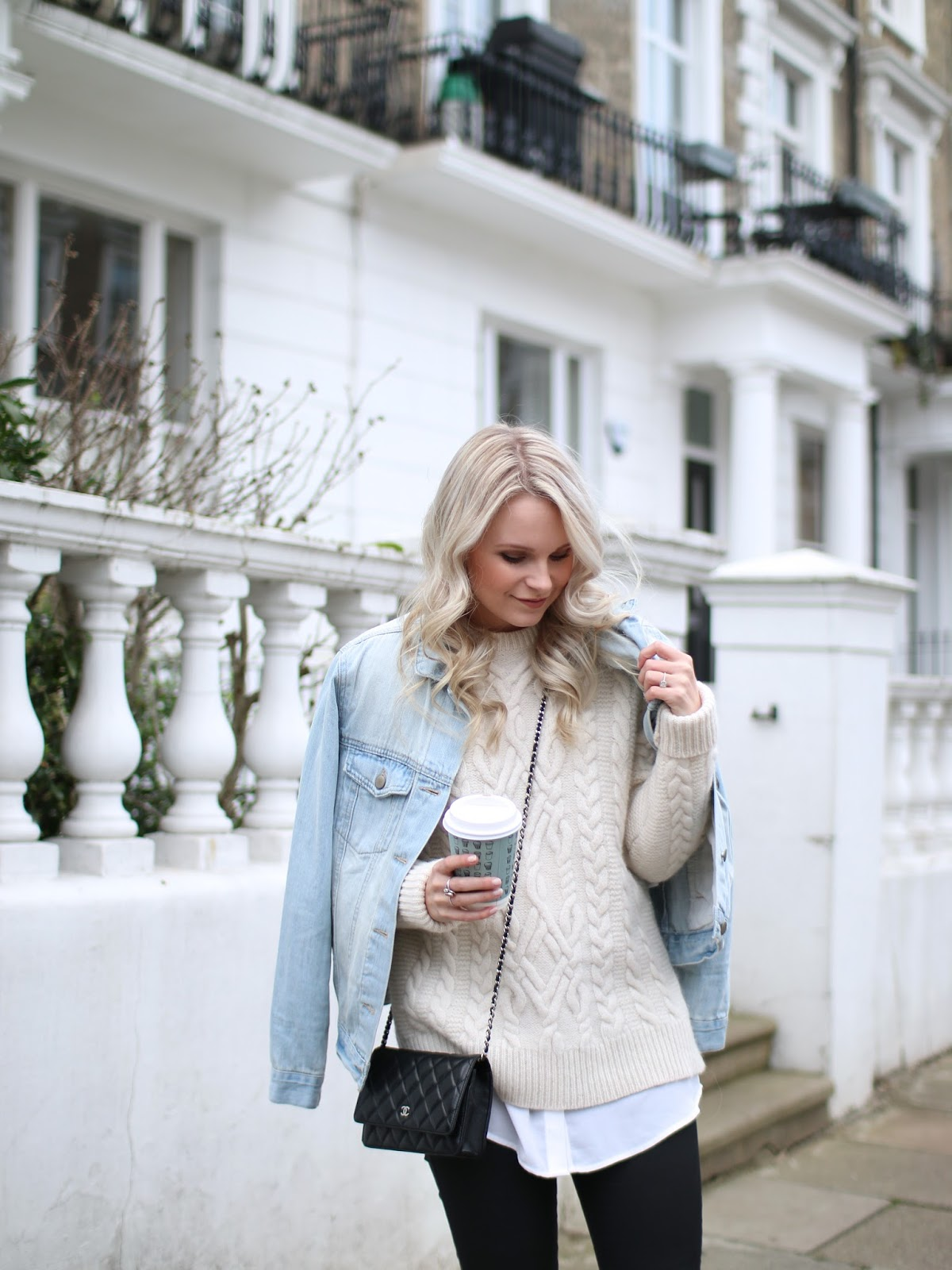cute and casual outfit for fall and cold days in london
