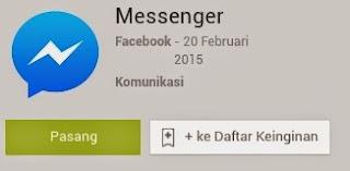 Fitur keren facebook messenger baru