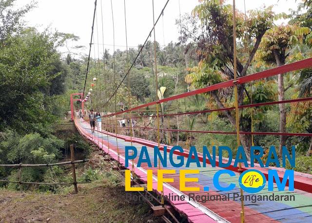 jembatan merpati desa wisata margacinta