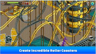 Game RollerCoaster Tycoon Classic MOD Apk + DATA Terbaru