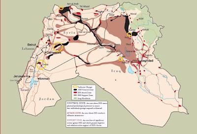 Laporan Terbaru, ISIS Kehilangan Banyak Medan di Irak dan Suriah