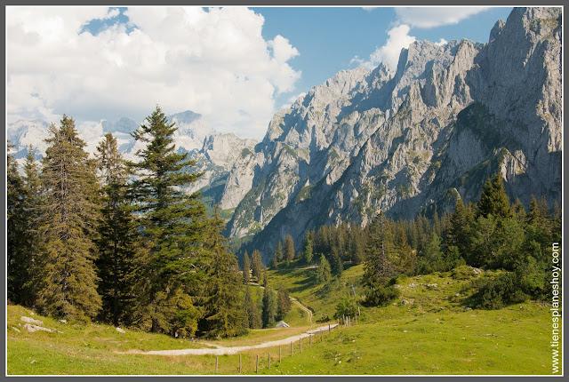 Paseo por zona Gosausee (Austria)