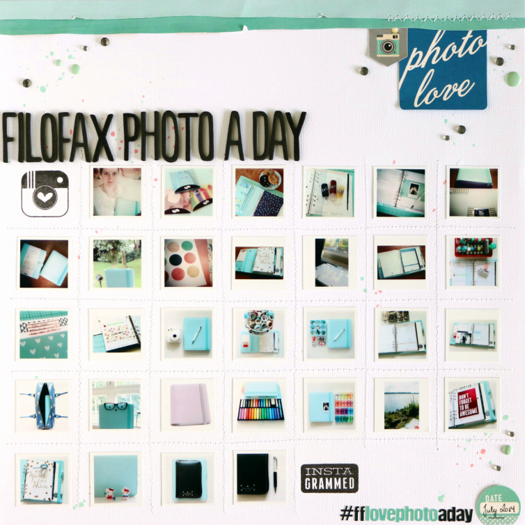 photo love | Scrapbooking Layout
