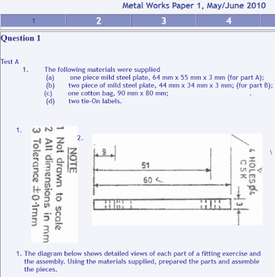 NECO 2017 Metal Work Questions & Answer (Obj & Essay) Expo Past Questions