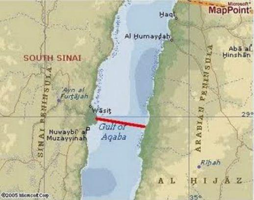 Tahukah Anda, dimana Nabi Musa Membelah Laut