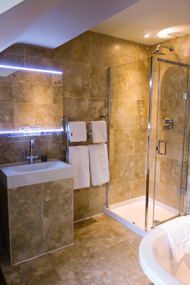 Shower in The Summer Room at The Howard Arms