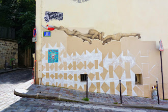 Sunday Street Art : Philippe Hérard - rue de Savies - Paris 20
