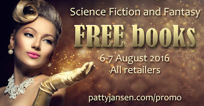 Free eBooks 6-7 Aug. 2016