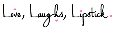Lovelaughslipstick blog - a health beauty lifestyle and fashion blog