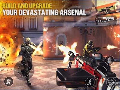 Modern Combat 5 Blackout God Mode Apk v2.7.0j