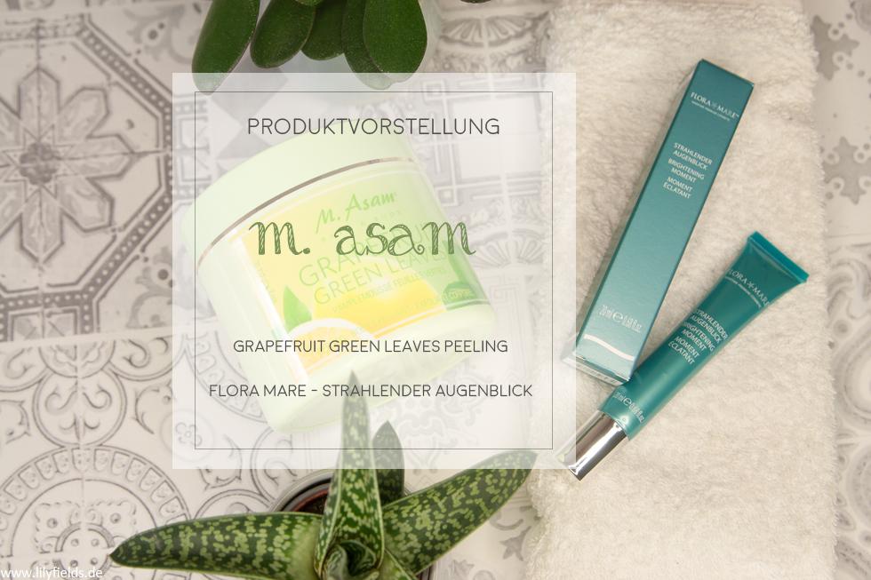 M. Asam- Grapefruit Green Leaves Peeling & Flora Mare - Strahlender Augenblick