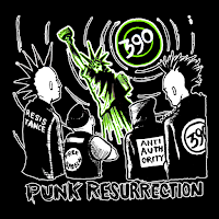 MP3/AAC Download - Punk Ressurection by 390 - stream album free on top digital music platforms online | The Indie Music Board by Skunk Radio Live (SRL Networks London Music PR) - Wednesday, 28 November, 2018