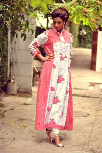 Andaaz Pret a porter Women s Semi formal collection 2012. Sara Moin launched  New designer fashion dresses for women. Andaaz Pret a porter Clothing is a  ... 0718772b7