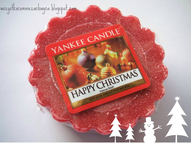 Yankee Candle. Happy Christmas