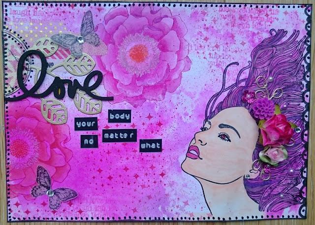 Art journal octobre rose