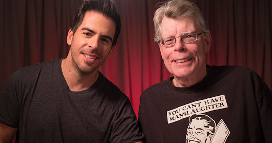 Stephen King ospite di Eli Roth nella serie-documentario History of Horror