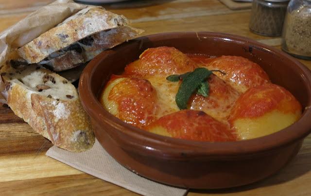 Il Melograno, Northcote, baked pasta