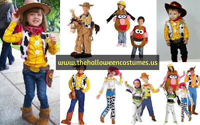 Toy Story Halloween Costume for kids 2016