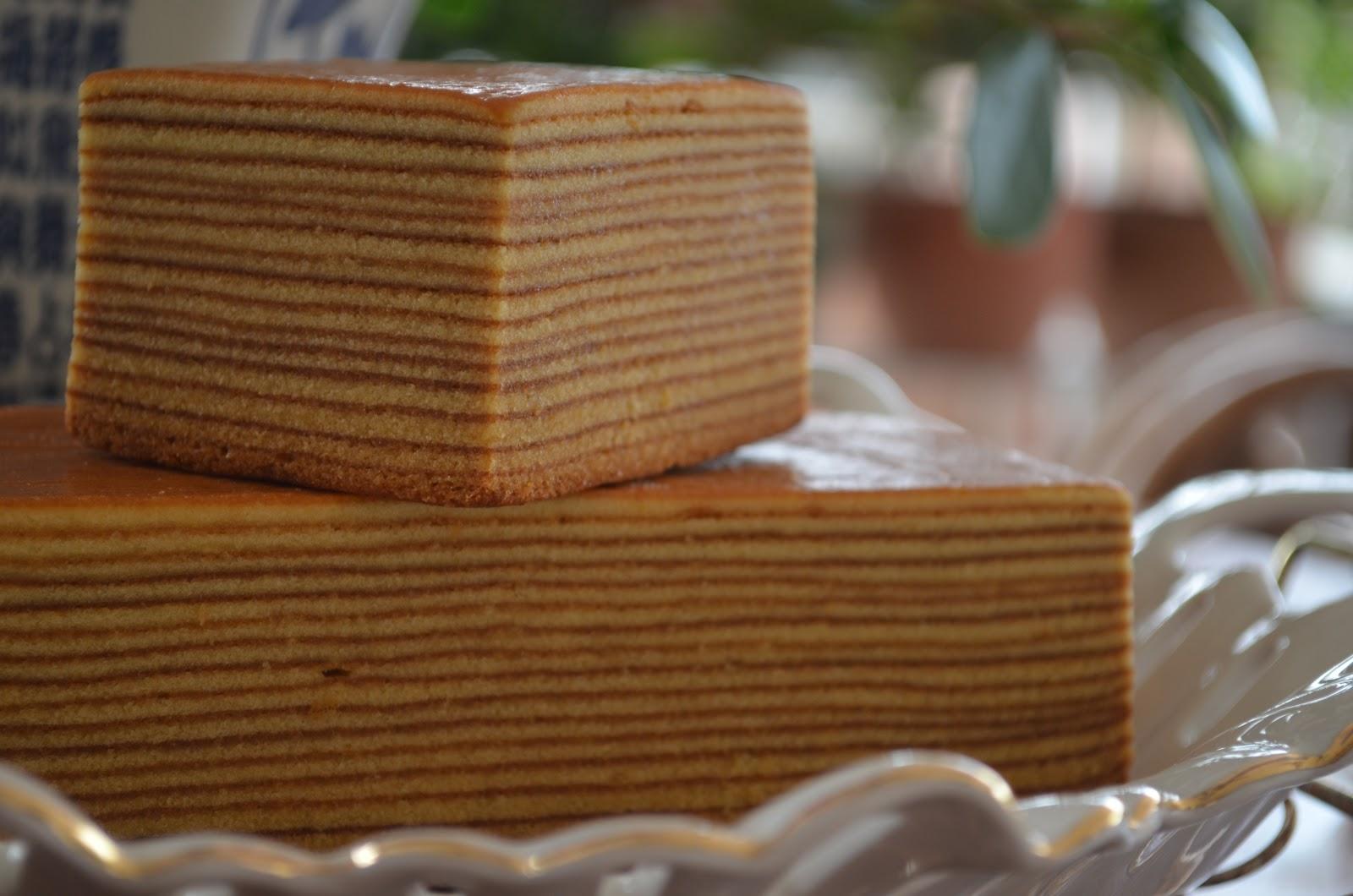 Wendy S Small Small World Kue Lapis Legit Indonesia