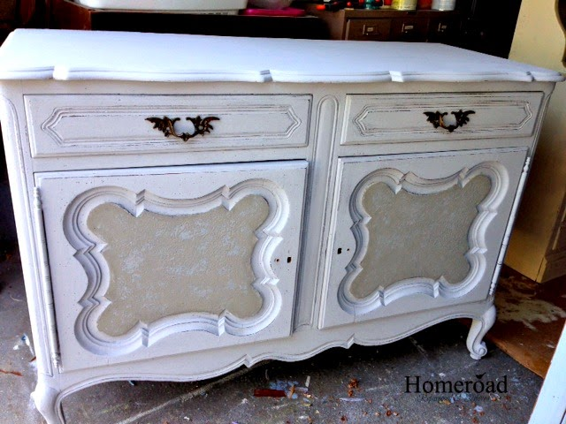 Antique-sideboard-saved-from-the-curb www.homeroad.net