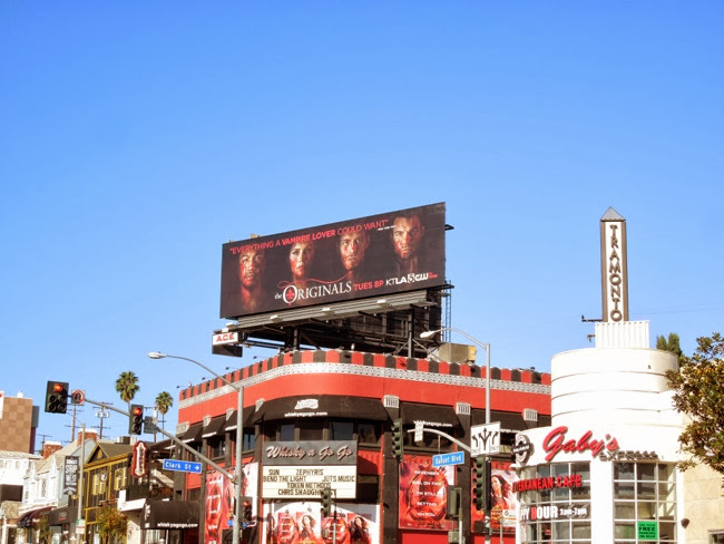 CW Originals season 1 billboard