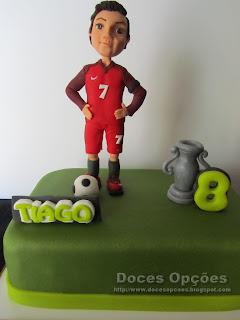 bolo futebol cristiano ronaldo cr7