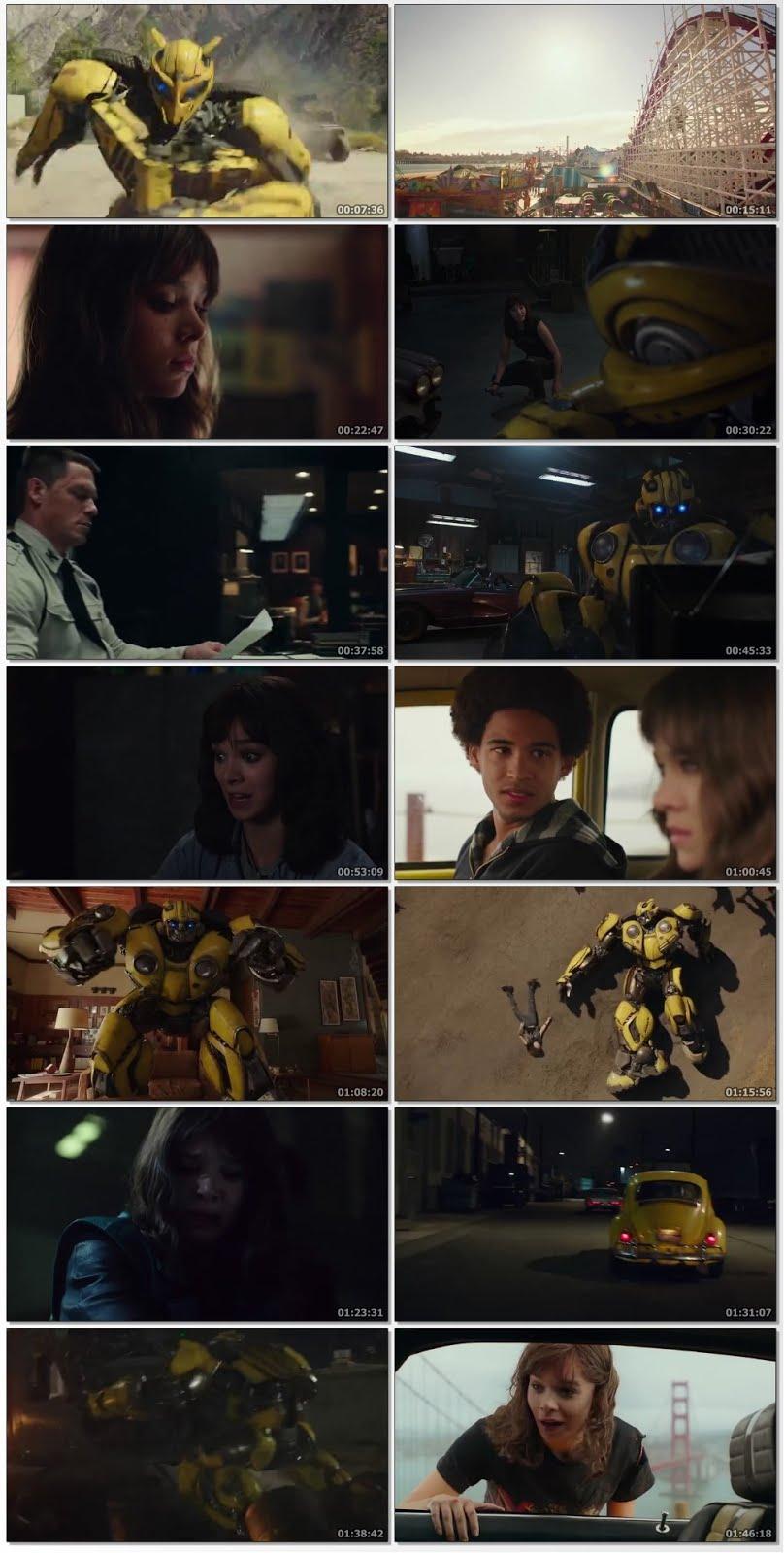 Bumblebee (2018) Dual Audio 720p