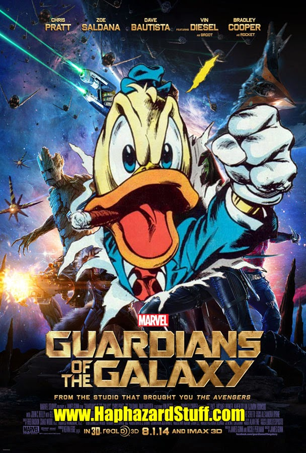 Howard the Duck cameo Guardians of the Galaxy Marvel movie
