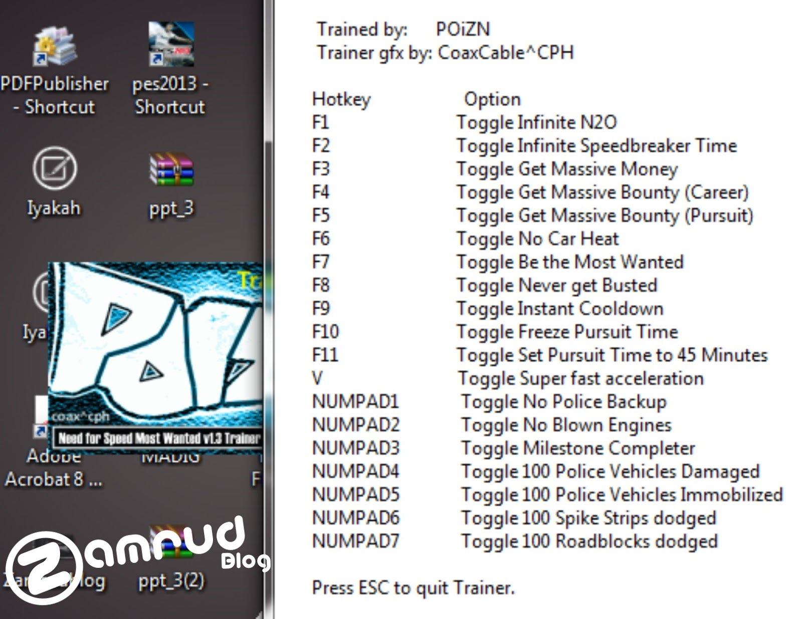 Need For Speed Most Wanted Cheats