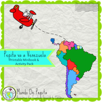 https://www.teacherspayteachers.com/Product/Pepita-va-a-Venezuela-Printable-Minibook-Activity-Pack-Spanish-Culture-2112541