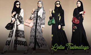 Model Gambar Baju Muslim Wanita Terbaru Tahun 2018