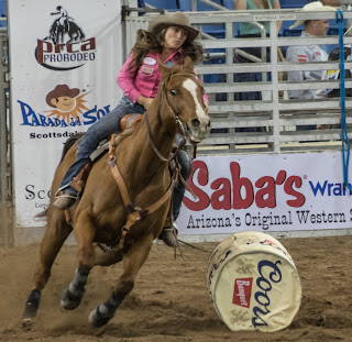5 second penalty in barrel racing in scottsdale, arizona