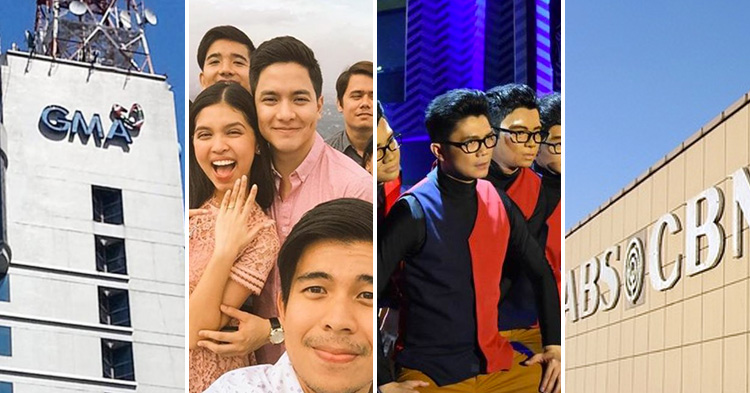 Eat Bulaga's first TeleMovie, 'Love is...' and It's Showtime's 'Magpasikat'.