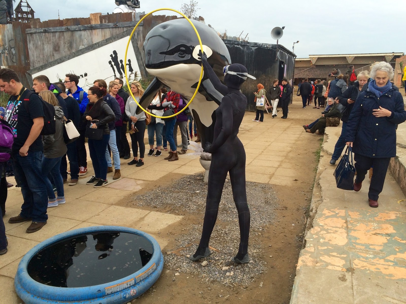 Banksy Sea World Dismaland Installation