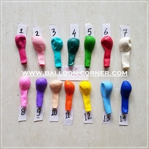 Balon Latex Doff 5 Inchi